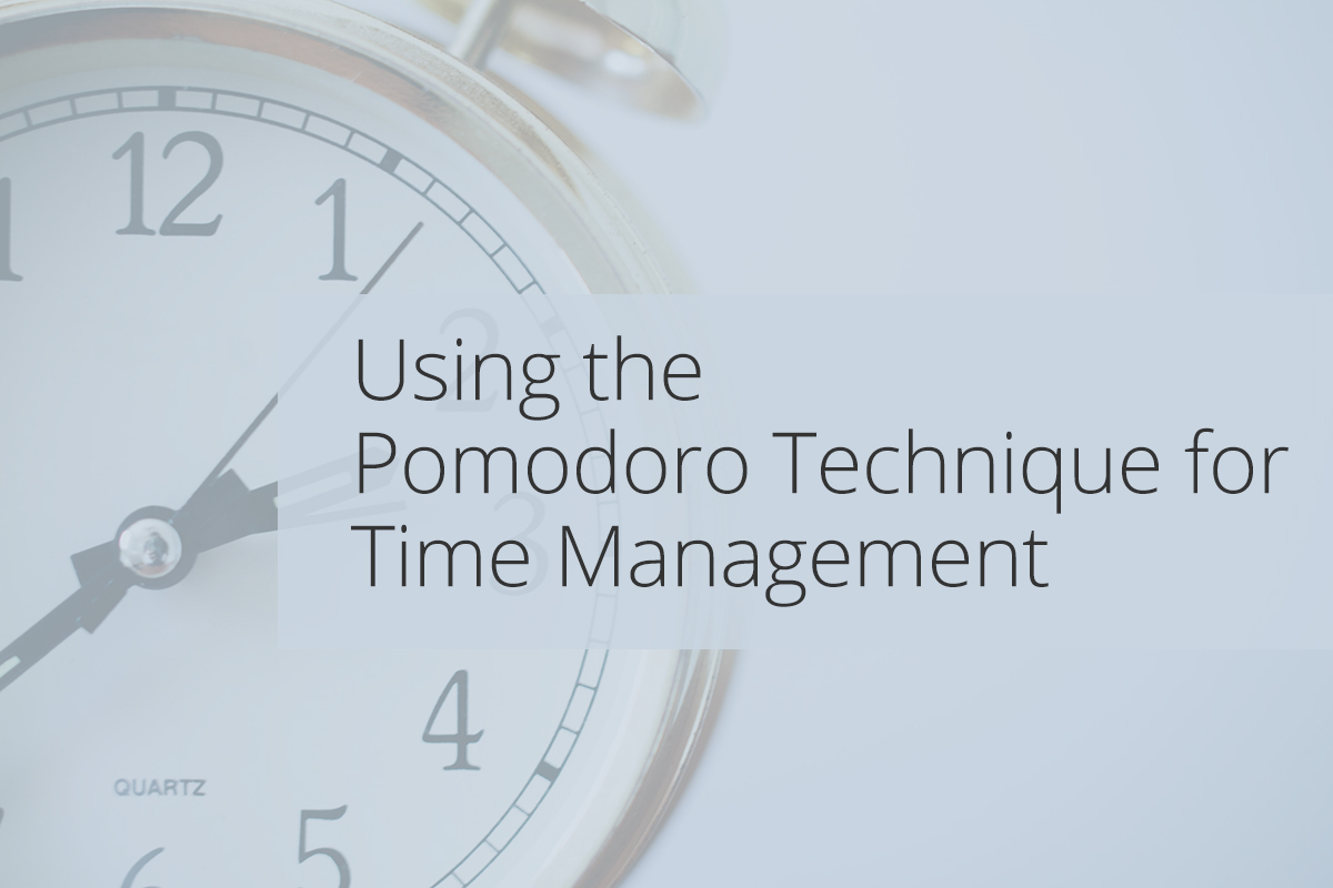 Using the Pomodoro Technique for Time Management Icon